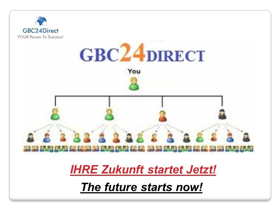 The future starts now! IHRE Zukunft startet Jetzt!
