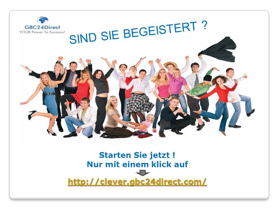 http://clever.gbc24direct.com/ Starten Sie jetzt .