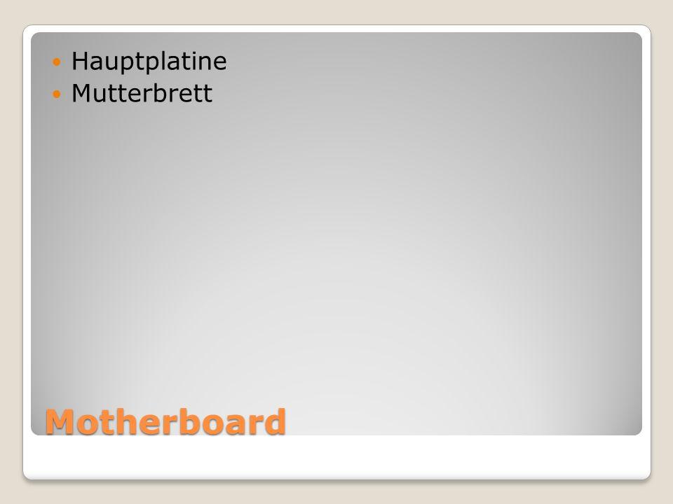 Motherboard Hauptplatine Mutterbrett