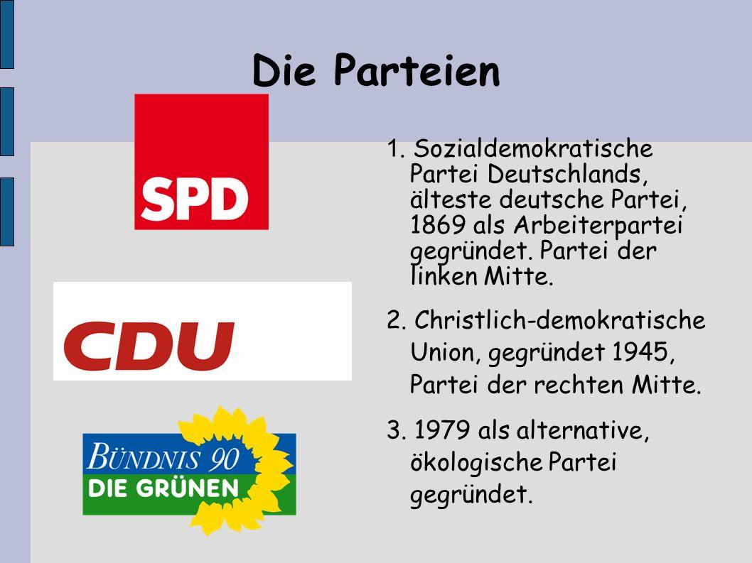 Die Parteien 1.
