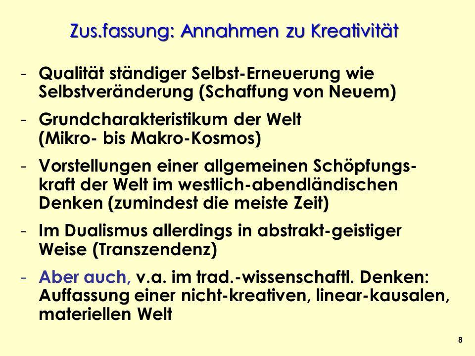 39 Transzendenz – der kreative Geist-Gott (Antike u.