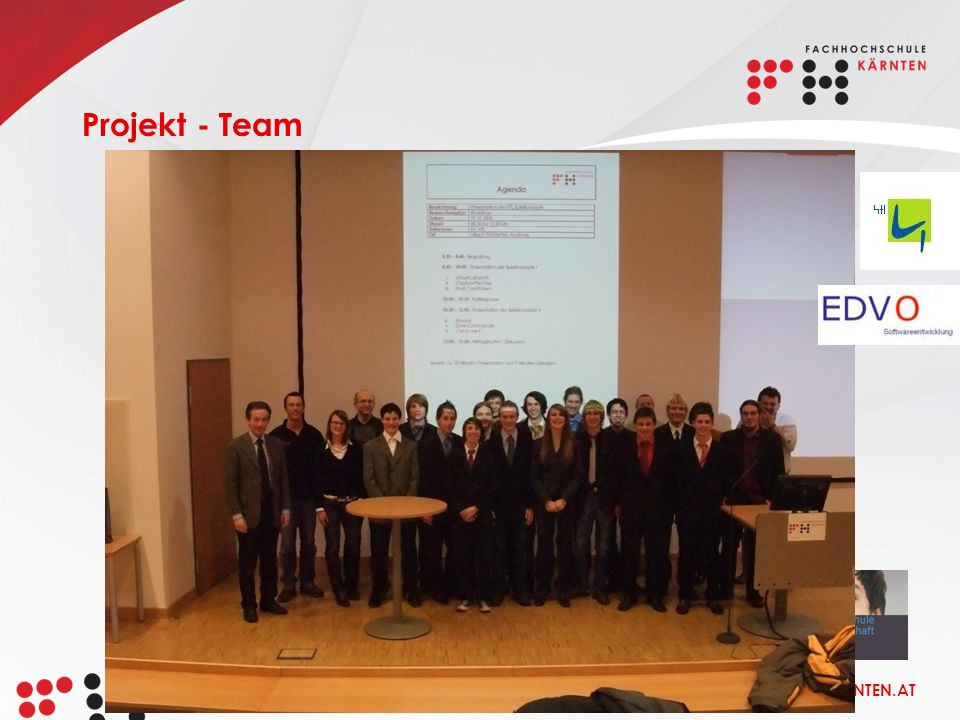 WWW.FH-KAERNTEN.AT Projekt - Team