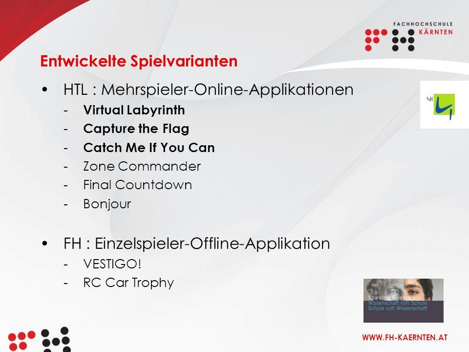 WWW.FH-KAERNTEN.AT VESTIGO! - Spieleditor