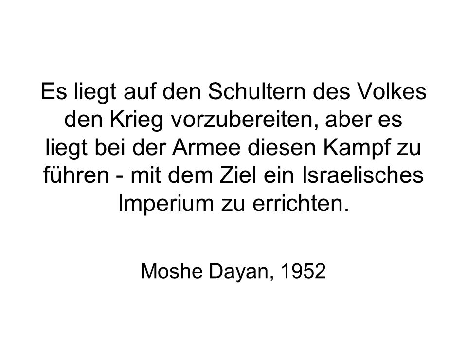 Rabins Beschreibung von Lod nach Beendigung des Plan Dalet: Wir sollten die Arabische Bevölkerung zu einem Gemeinwesen von Holzfällern und Kellnern vermindern.