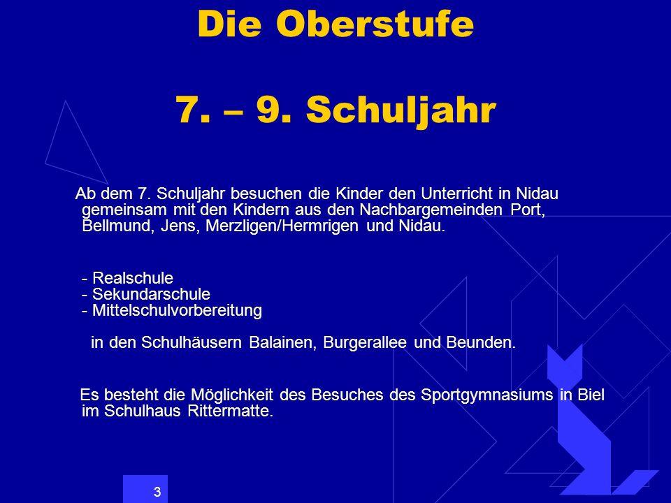 14 Übersicht über das Übertrittsverfahren allgemeine Beobachtungen Im 5.