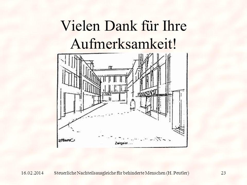Steuerliche Nachteilsausgleiche für behinderte Menschen (H. Peutler) (2) Grundsteuer Bei einem Kriegsbeschädigten wird der bei der Grundsteuer als Bem