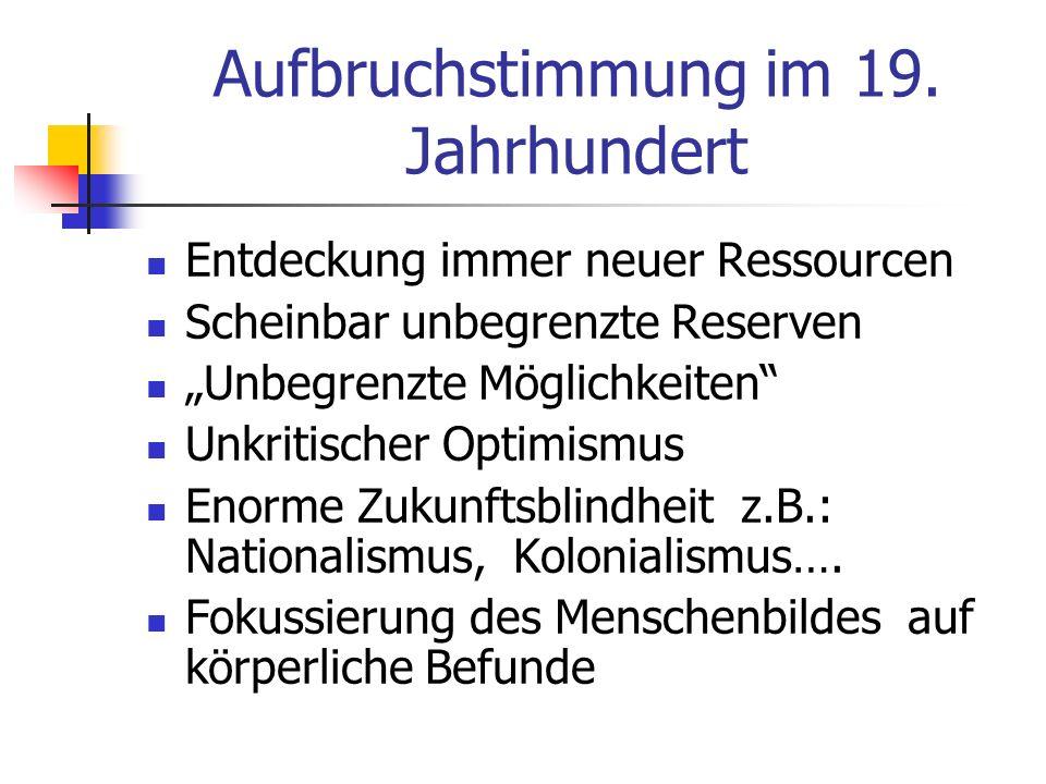 Das medizinische Menschenbild im 19.