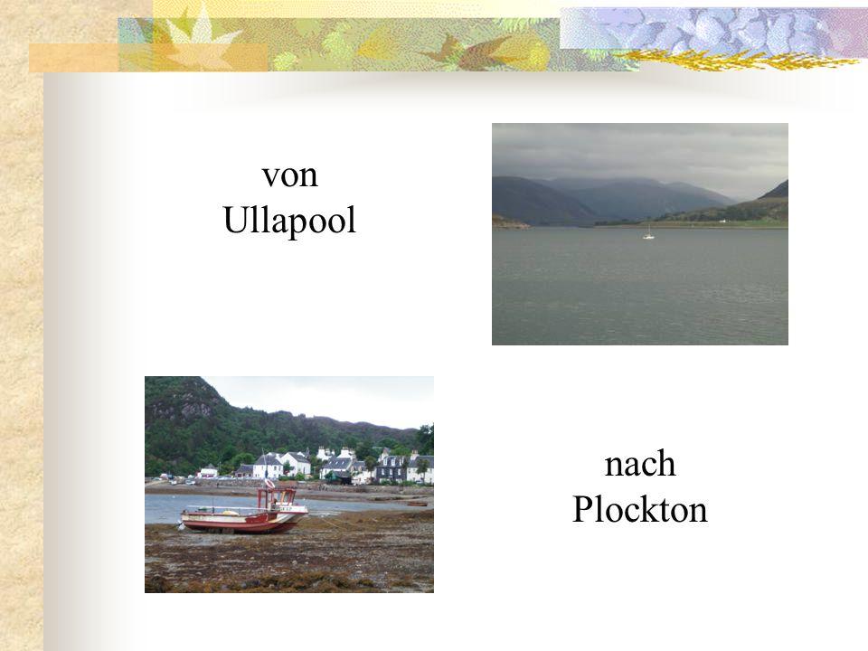 Ullapool ist ein typischer Fischereihafen.