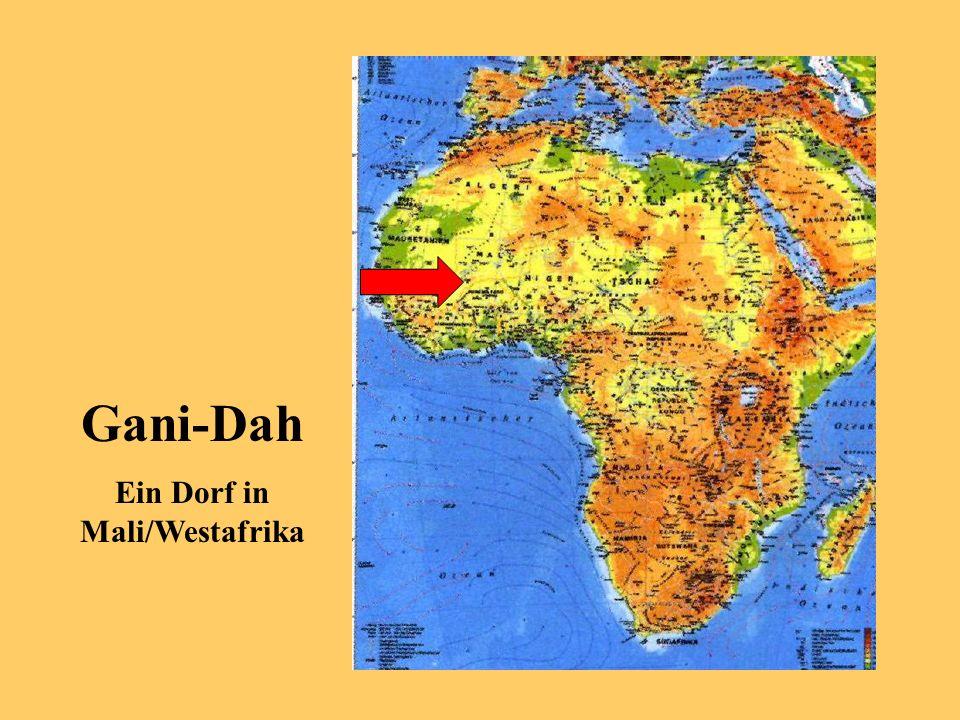 Gani-Dah Ein Dorf in Mali/Westafrika