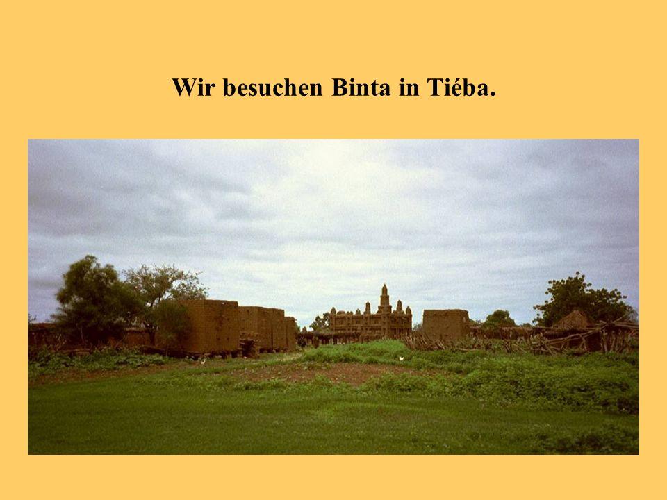 Wir besuchen Binta in Tiéba.