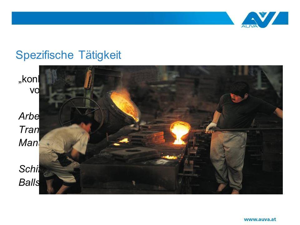 Schwerpunktauswertungen Bau Metall Holz Forstwirtsch.