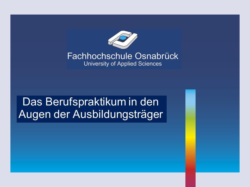 Januar 2008 Studentische Tätigkeit in der Praxis (7) Flexible Form von Praktika, z.B.