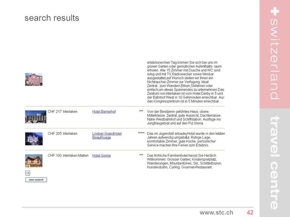 42www.stc.ch search results