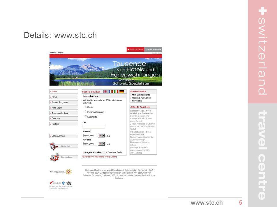 5www.stc.ch Details: www.stc.ch