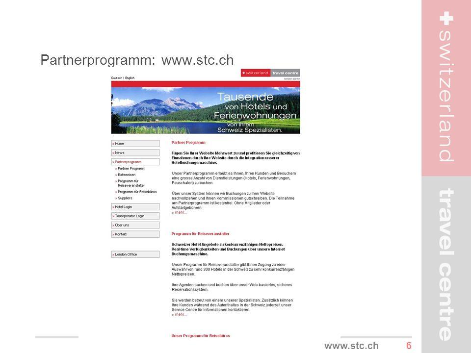 6www.stc.ch Partnerprogramm: www.stc.ch