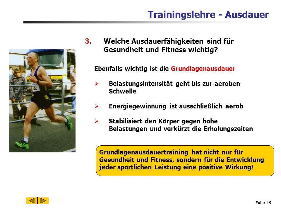 Trainingslehre - Ausdauer Folie 18