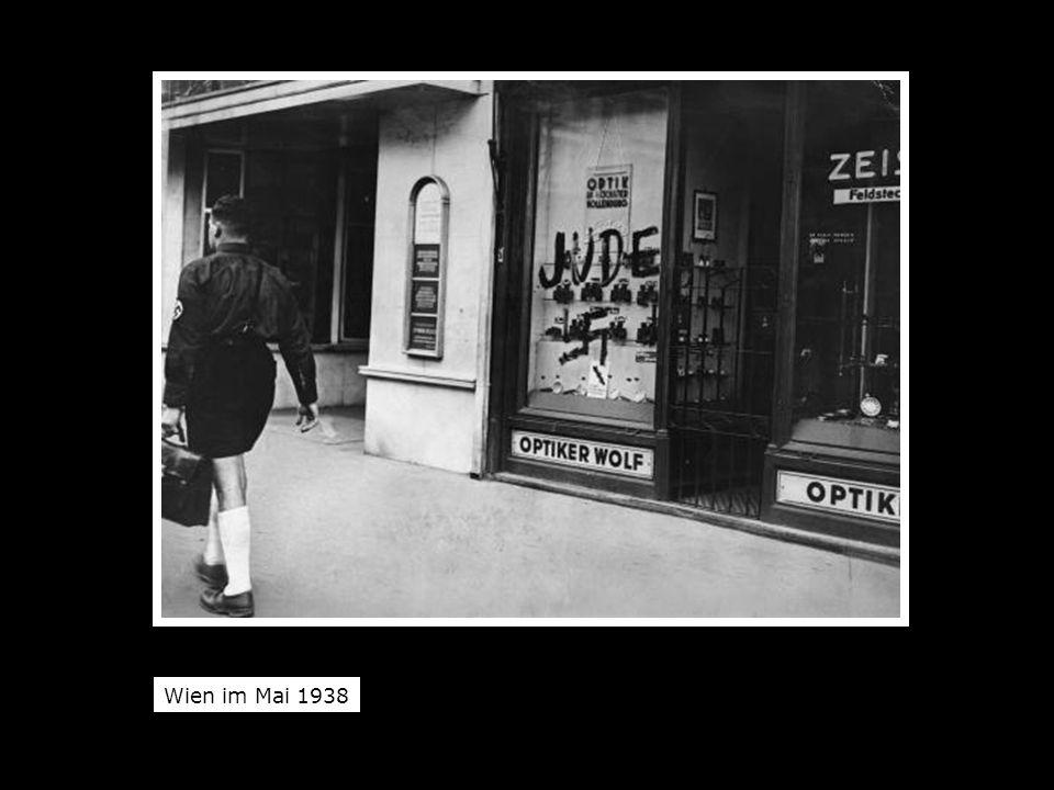 Wien im Mai 1938