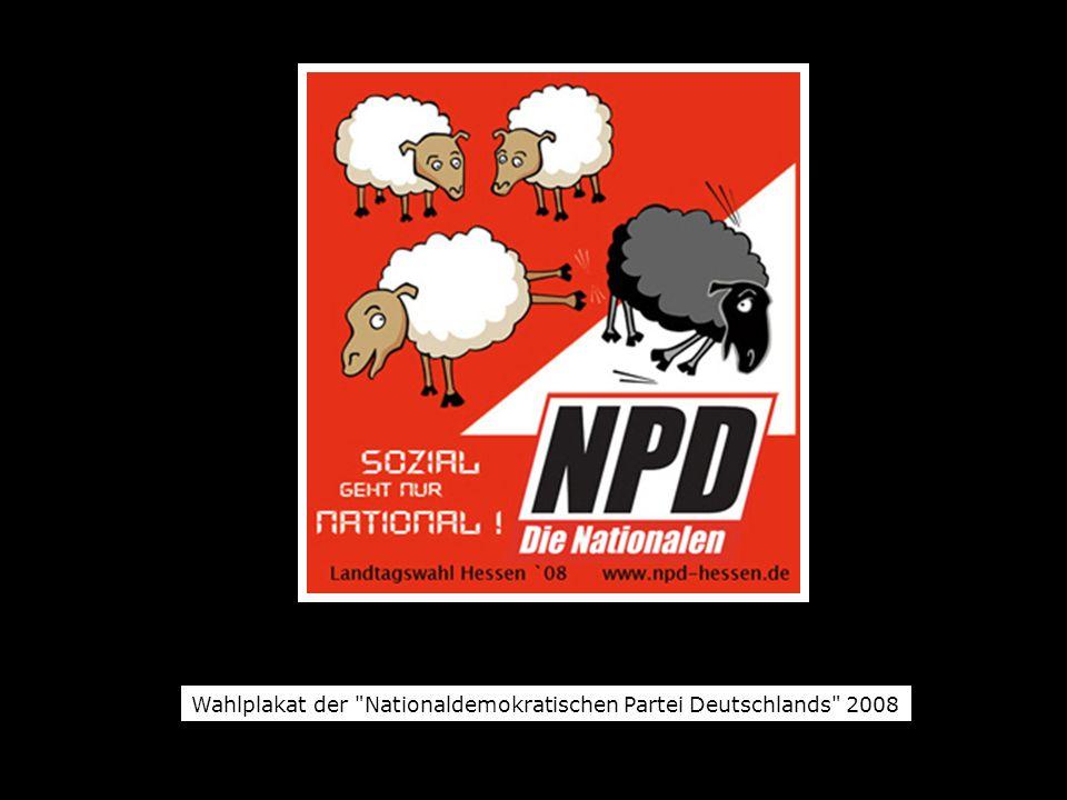 Wahlplakat der