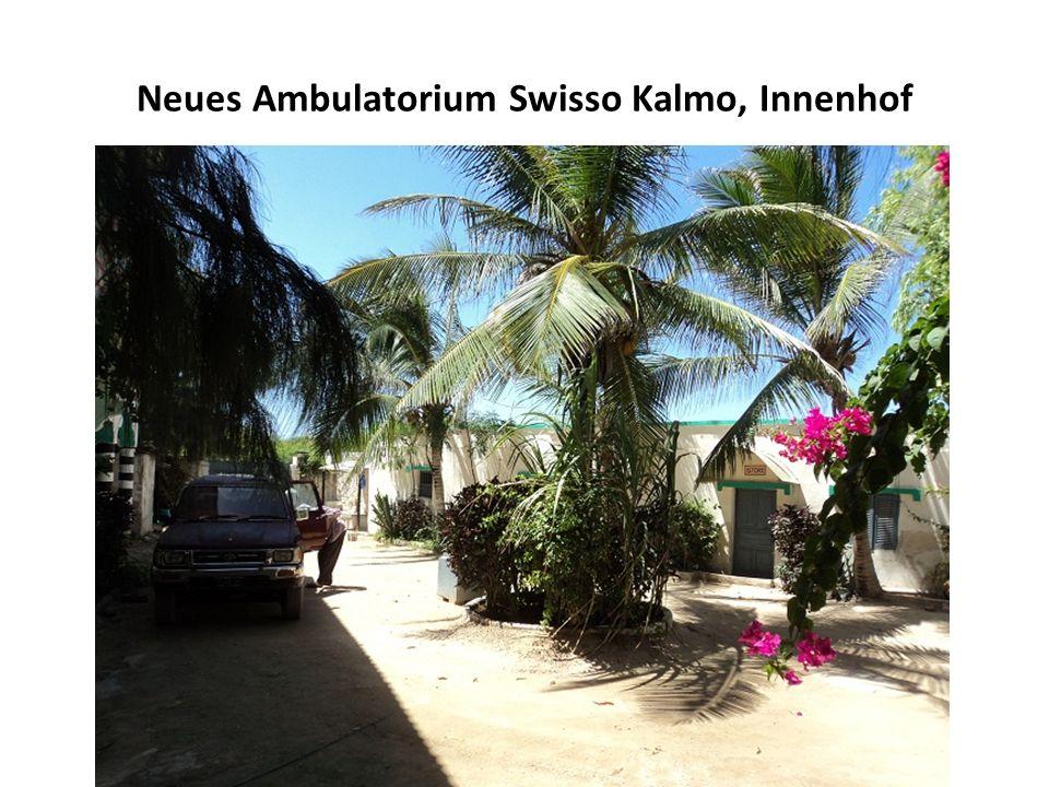 Die neue Tuberkuloseklinik von Swisso Kalmo mit 80 Betten, die von Dr.