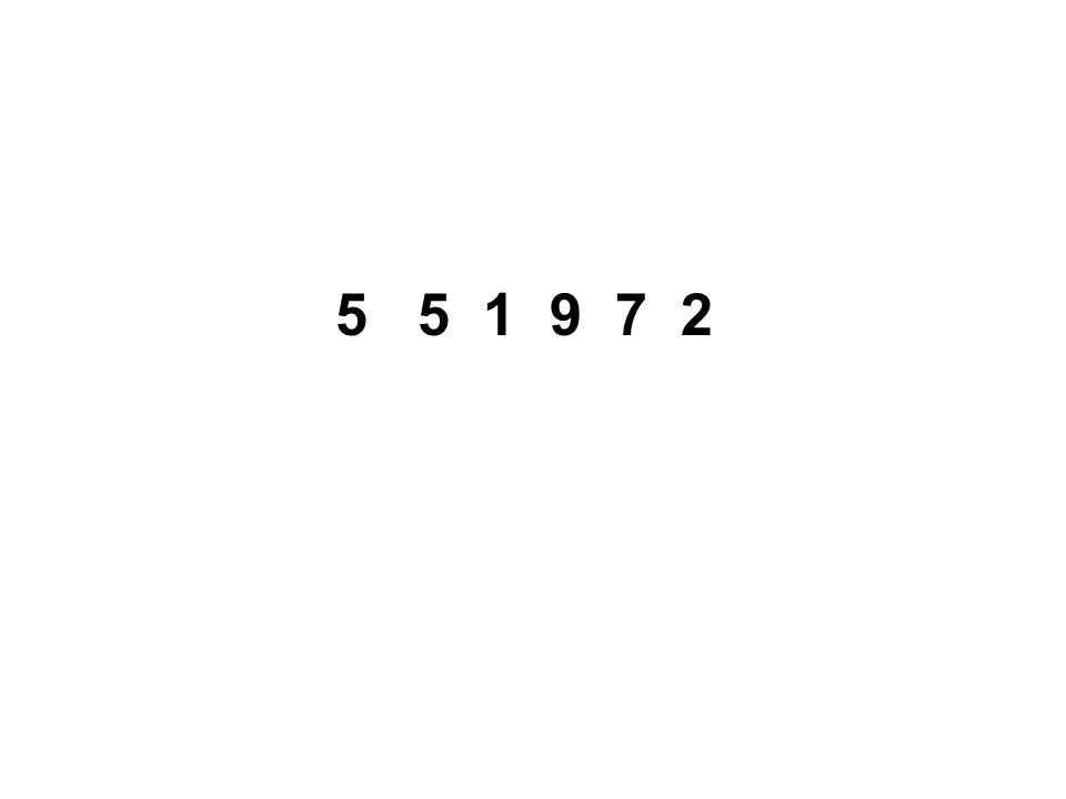 5 5 1 9 7 2
