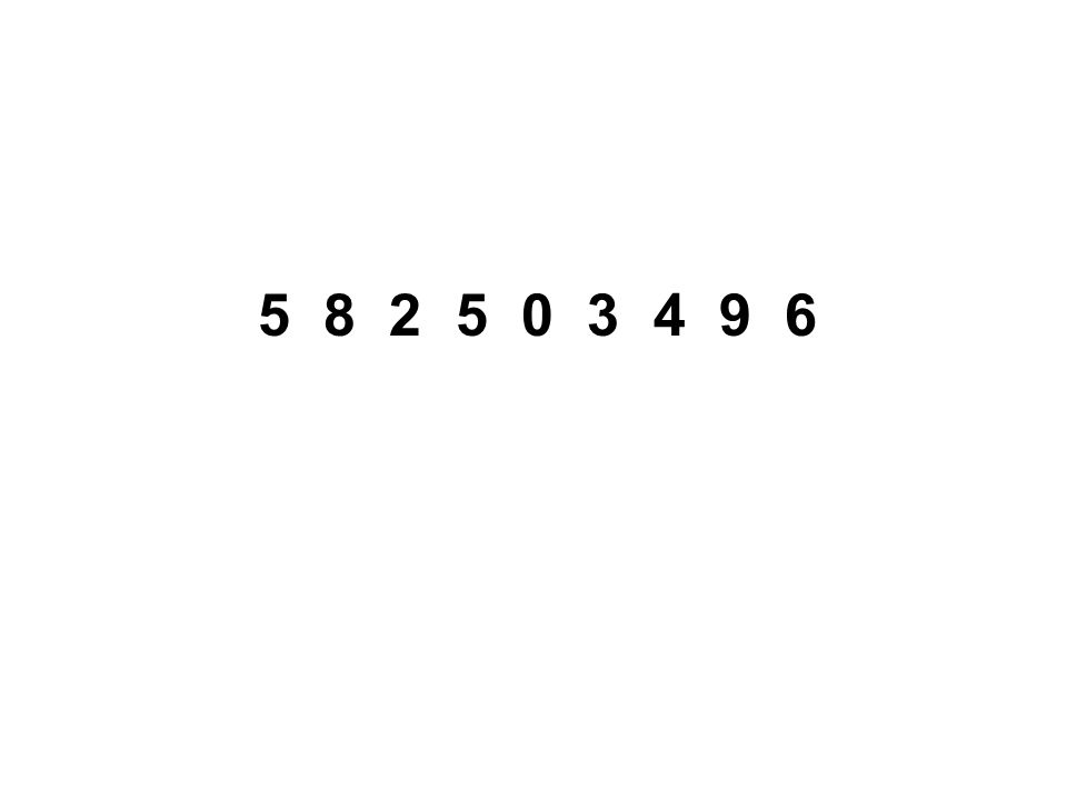 5 8 2 5 0 3 4 9 6