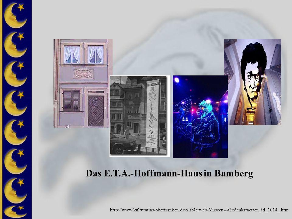 Das E.T.A.-Hoffmann-Haus in Bamberg http://www.kulturatlas-oberfranken.de/xist4c/web/Museen---Gedenkstaetten_id_1014_.htm