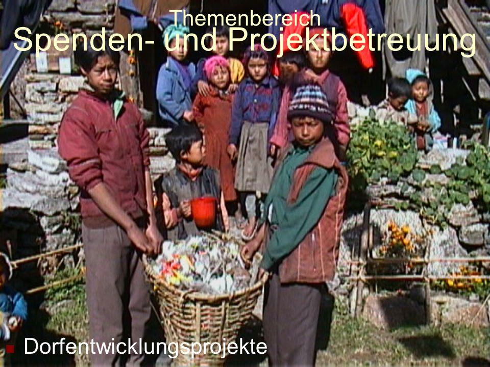 Themenbereich Spenden- und Projektbetreuung Schulprojekte (Foto: Birdim)