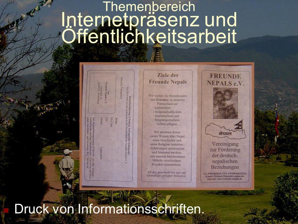 Themenbereich Internetpräsenz und Öffentlichkeitsarbeit Eigene Werbestände (Bild: Fürstenfeld, Mai 09)