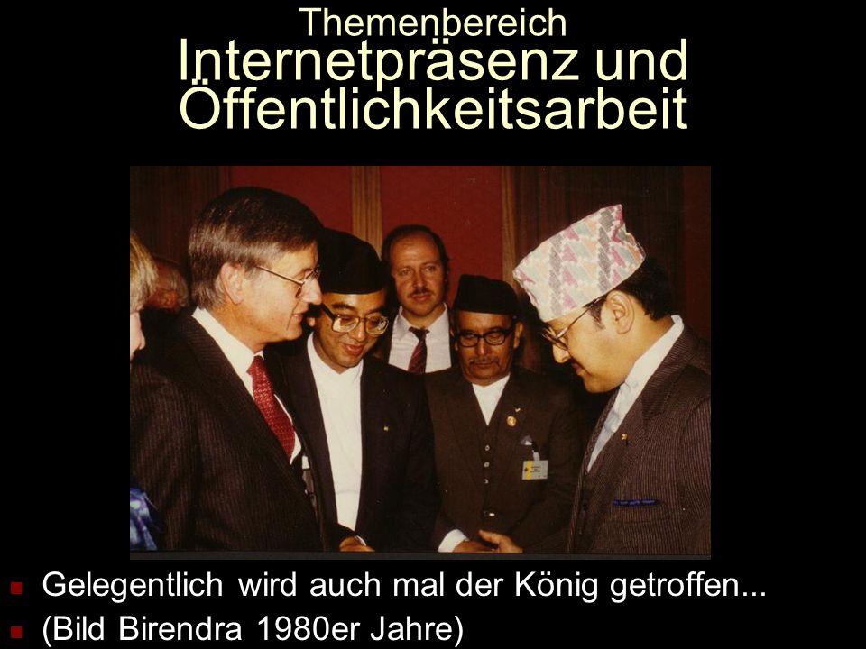 Themenbereich Internetpräsenz und Öffentlichkeitsarbeit Kontakte zu oder Betreuung von Nepali, die zu Besuch in Deutschland sind (Bild Ani Chöying).