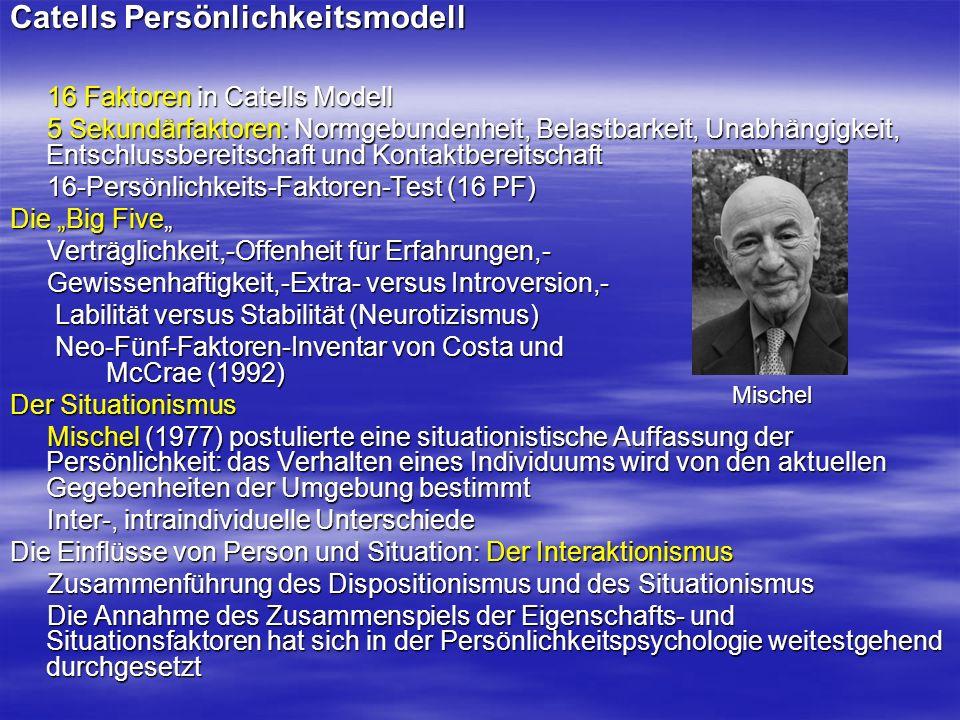 Spezielle Persönlichkeitskonstrukte und Verhaltensstile Feldabhängigkeit und Feldunabhängigkeit Witkin et al.