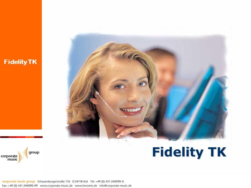 Fidelity TK wurde entwickelt für: Call Center Lösung Das Ziel unserer Lösung ist es, dass Sie Ihre Kunden schnell bedienen, Wartezeiten vermeiden und Ihr Agenten- Team optimal auslasten können.