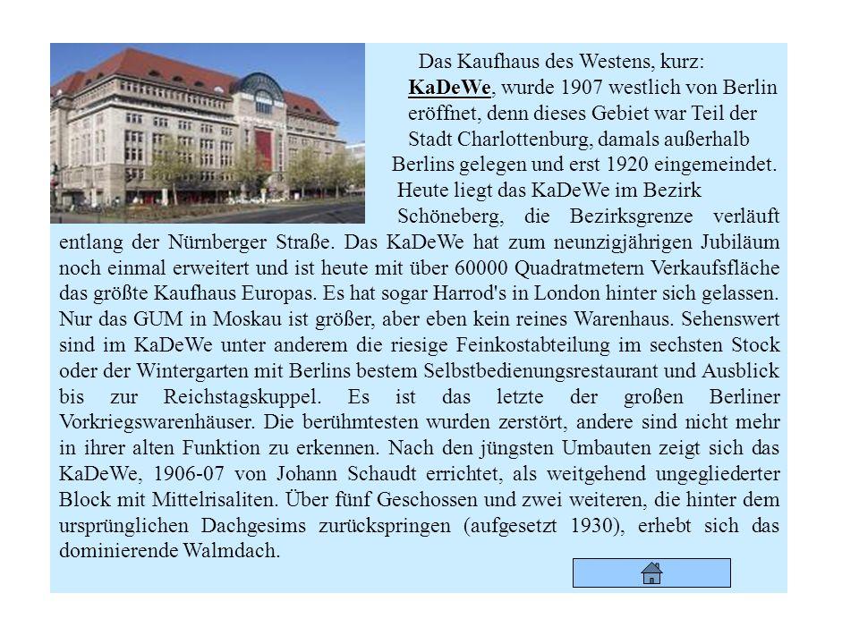Fernsehturm Neben dem Alexanderplatz steht der 368 Meter hohe Fernsehturm. Von hier hat man den besten Blick auf Berlin. Daher ist ein Besuch auf dem