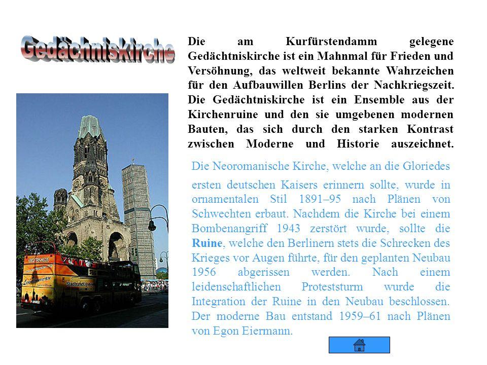 Das Kaufhaus des Westens, kurz: KaDeWe KaDeWe, wurde 1907 westlich von Berlin eröffnet, denn dieses Gebiet war Teil der Stadt Charlottenburg, damals a