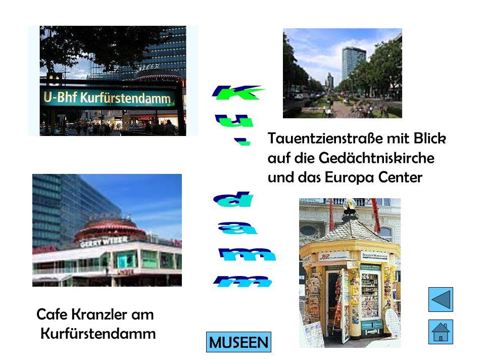 Der Kurfürstendamm ist seit Jahrzehnten eine weit über die Grenzen Berlins hinaus berühmte Einkaufs- und Flaniermeile. Der Kudamm ist aber nicht nur S