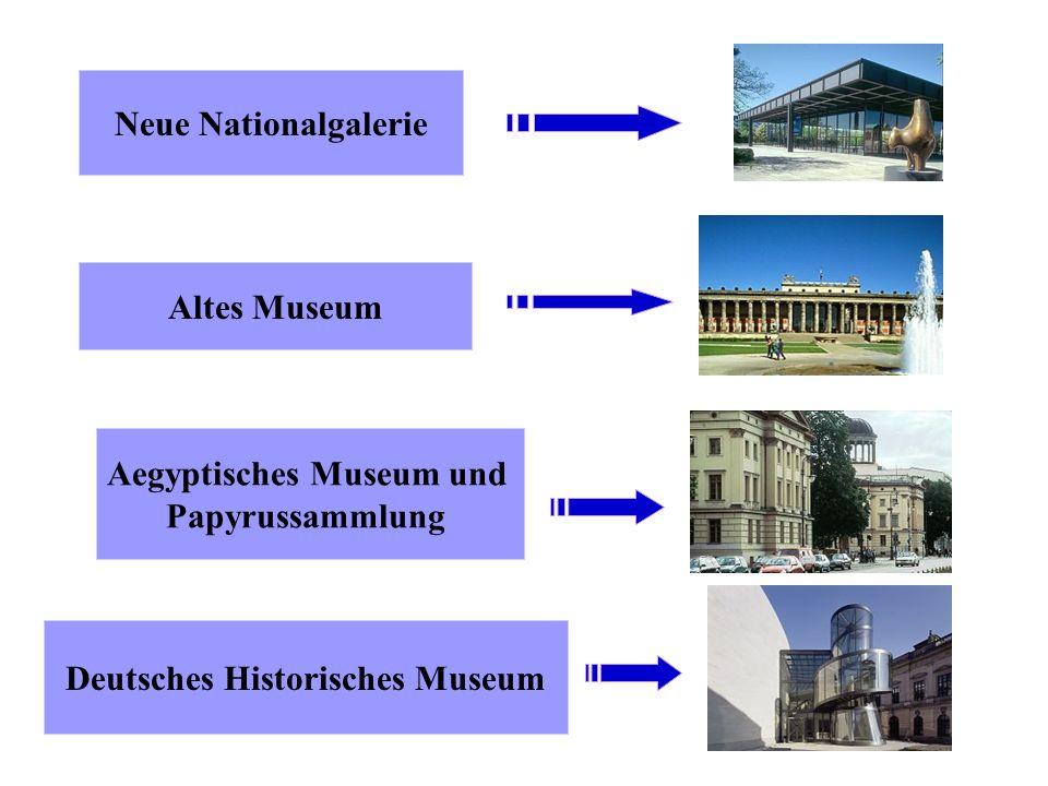 Schau dir folgende Gebäude an und entscheide, um welches Museum es sich handelt: (Lösung: Enter klicken) Pergamon- Museum Schloss Charlottenburg Jüdis
