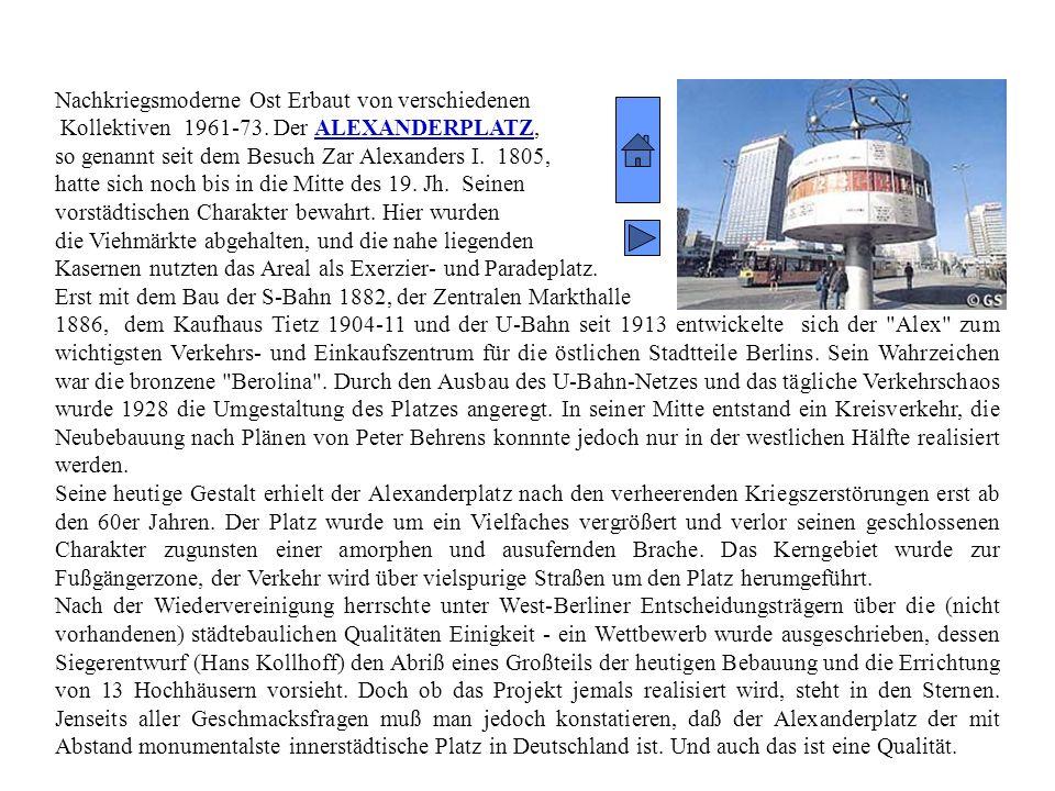 Historismus Erbaut von: Julius Raschdorff 1894-1905 Die Geschichte des Berliner Doms reicht bis ins Mittelalter zurück. 1469 wurde an der Schloßkapell