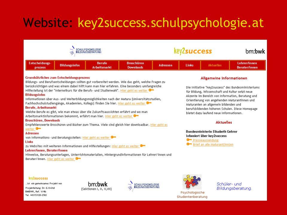 Website: key2success.schulpsychologie.at