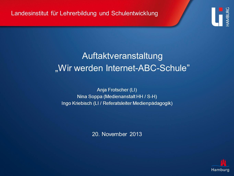 Der Weg zur Internet-ABC-Schule Hamburg