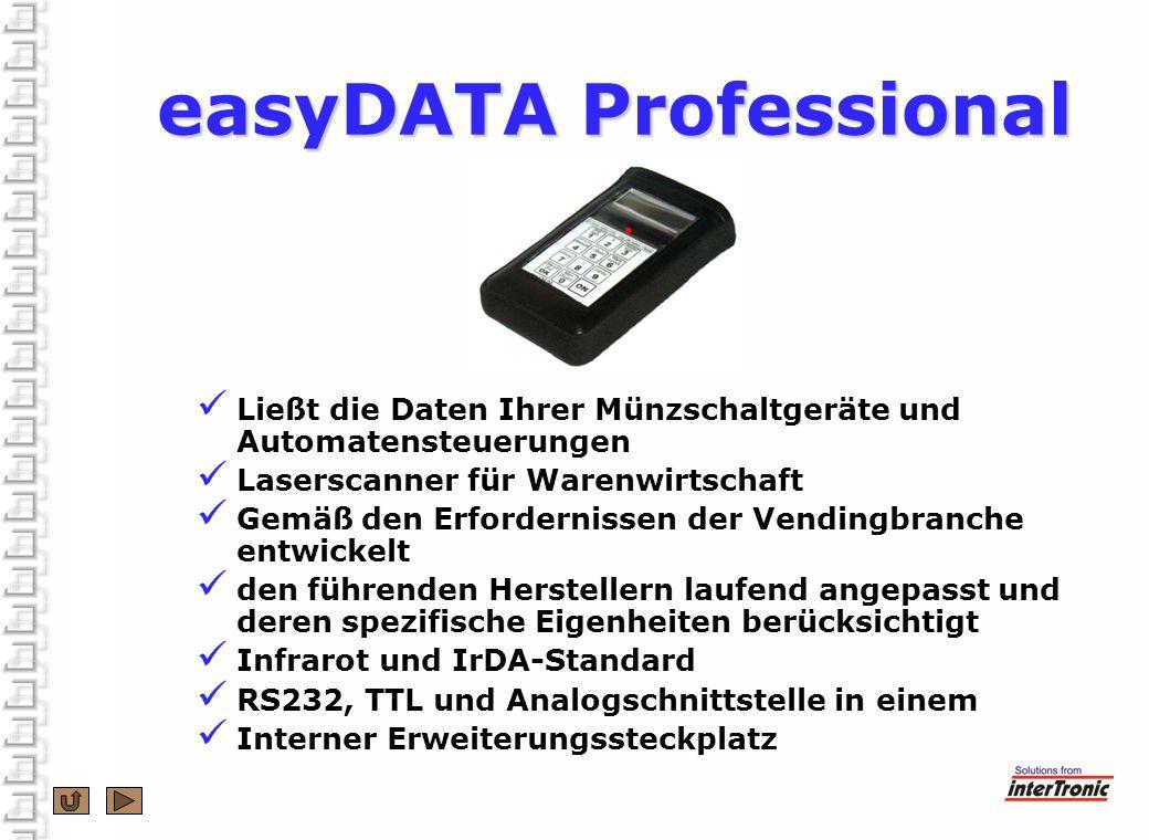 Ließt die Daten Ihrer Münzschaltgeräte und Automatensteuerungen Laserscanner für Warenwirtschaft Gemäß den Erfordernissen der Vendingbranche entwickel