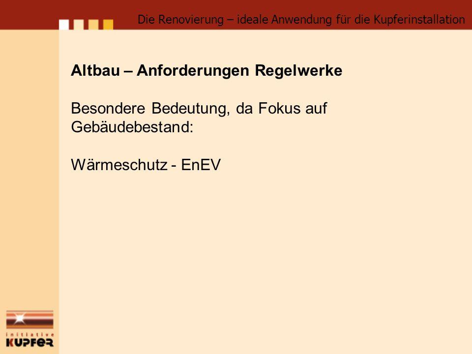 Altbau – Anforderungen EnEV, Auszug 1.Nachrüstpflichten (EFH / ZFH nur bei Eigentümerwechsel) a.