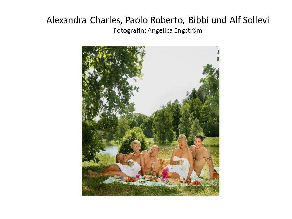 Alexandra Charles, Paolo Roberto, Bibbi und Alf Sollevi Fotografin: Angelica Engström