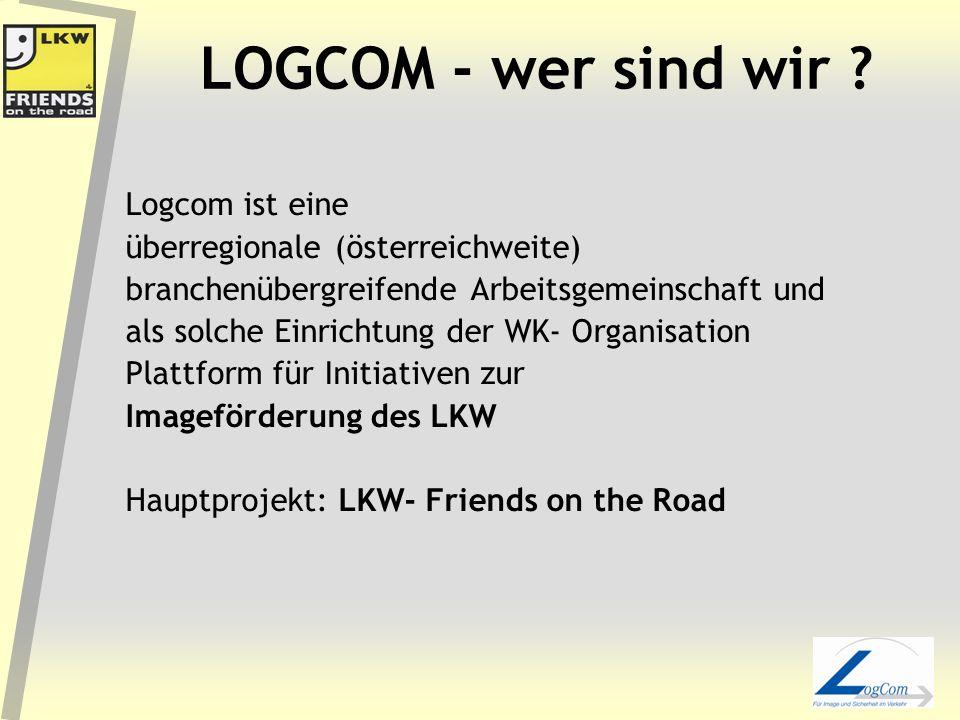 LOGCOM - wer sind wir .