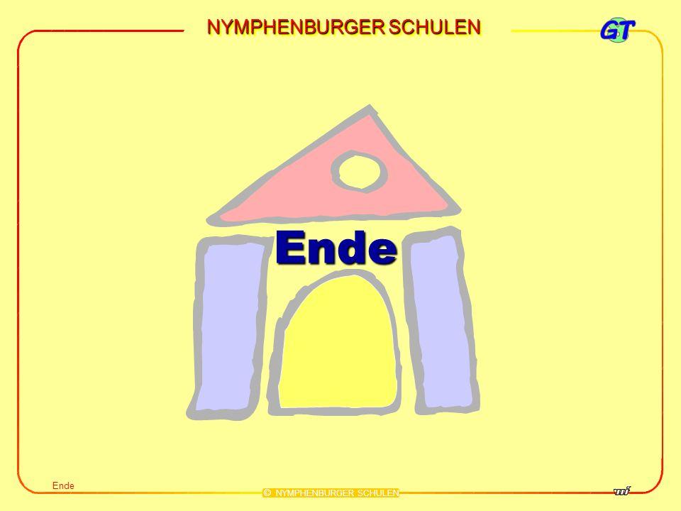 NYMPHENBURGER SCHULEN © NYMPHENBURGER SCHULEN Ende Ende