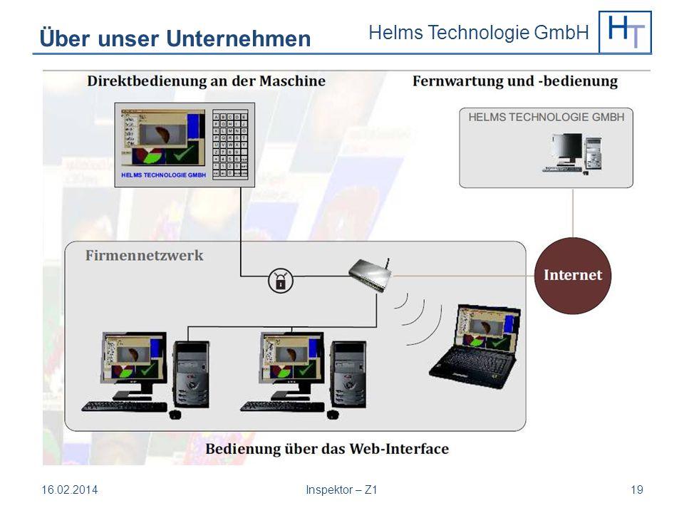 Helms Technologie GmbH 16.02.2014Inspektor – Z119 Über unser Unternehmen