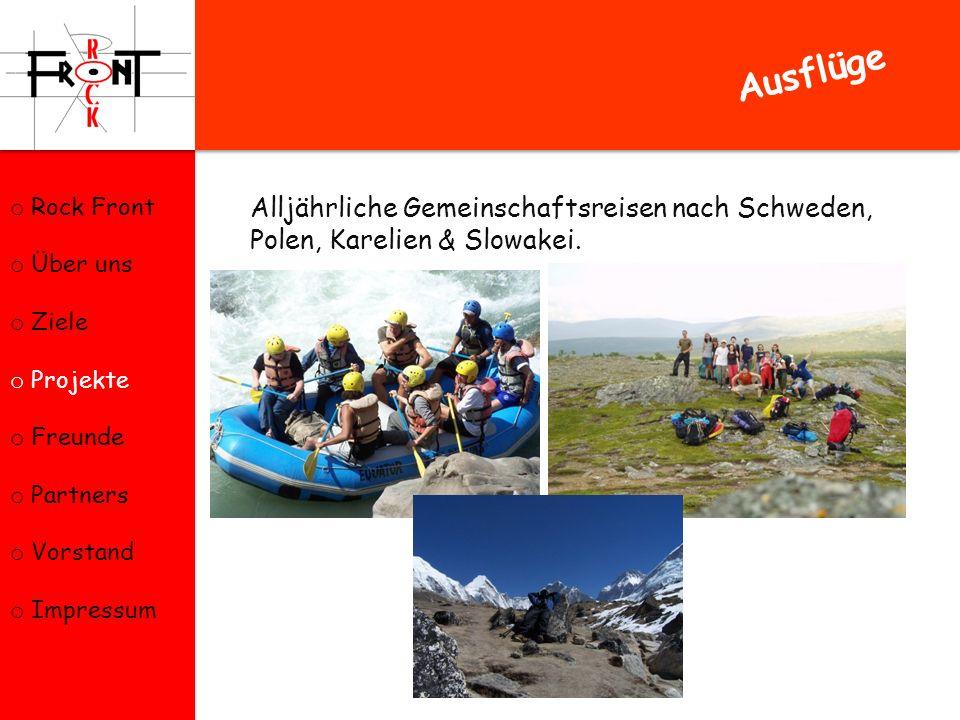 Alljährliche Gemeinschaftsreisen nach Schweden, Polen, Karelien & Slowakei.