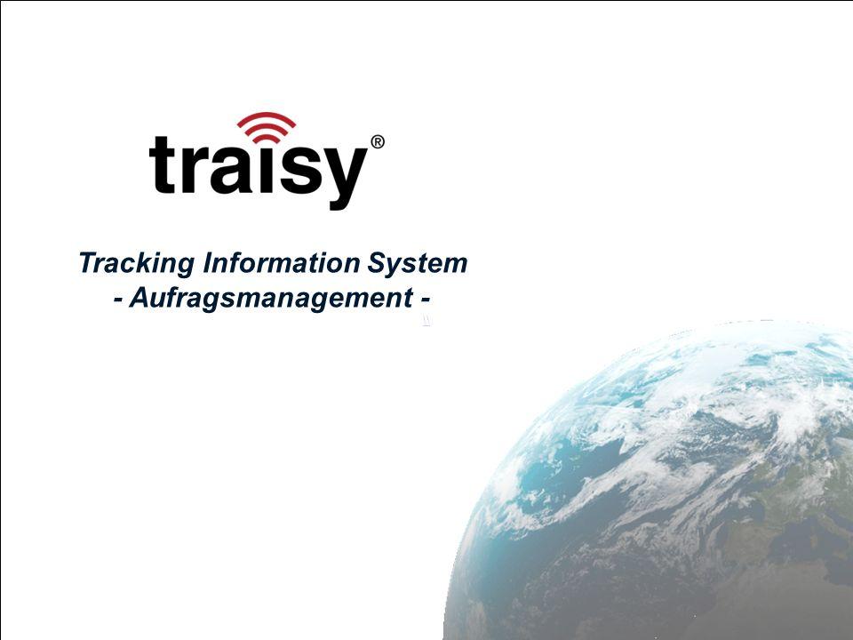 Seite 12 traisy MFD – Auftrags Verwaltung (4) – Navigation 1.
