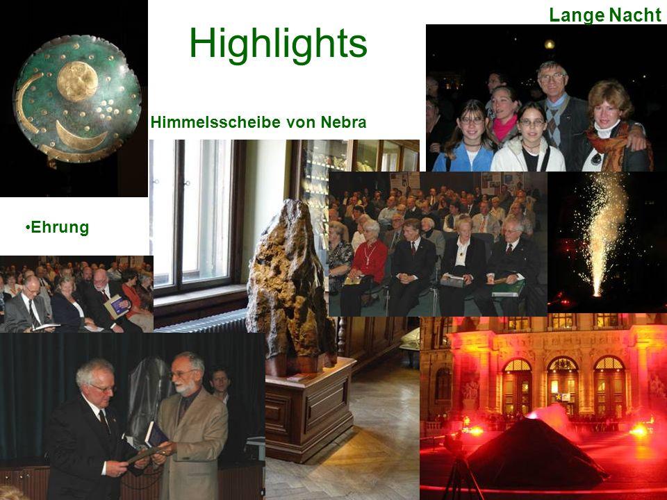 Highlights Himmelsscheibe von Nebra Lange Nacht Ehrung