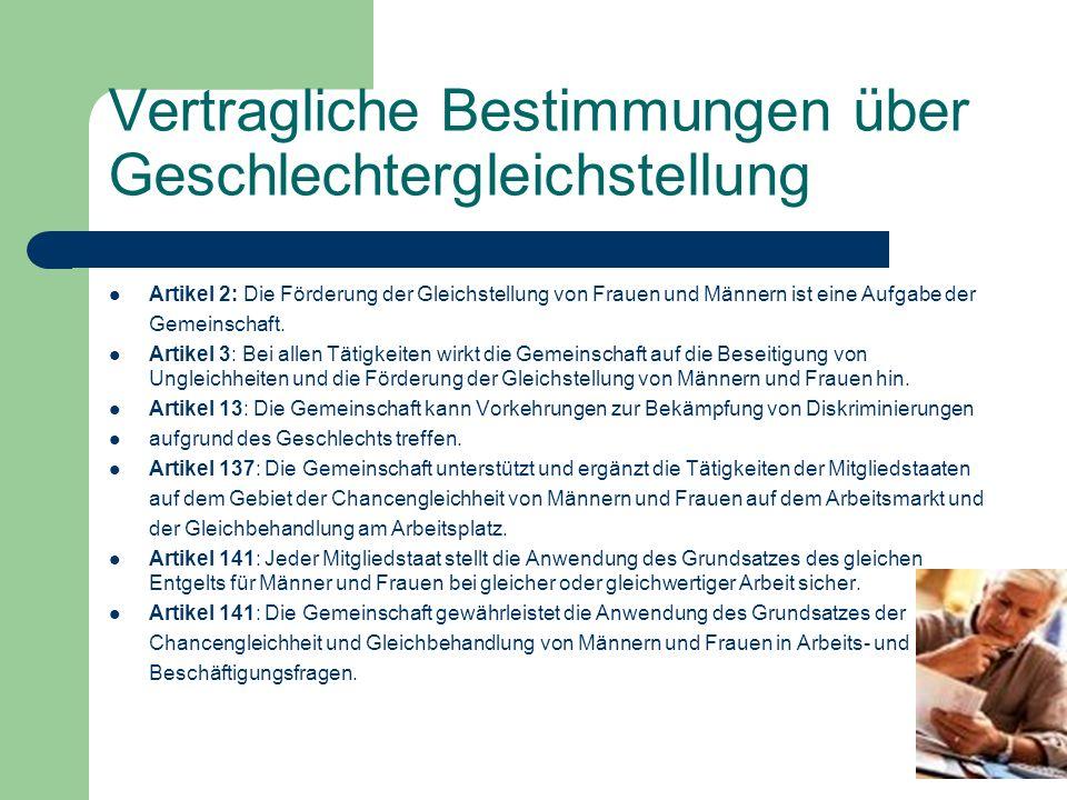 EU-Richtlinien Richtlinie über Lohngleichheit – 1975 (75/117/EWG – ABl.