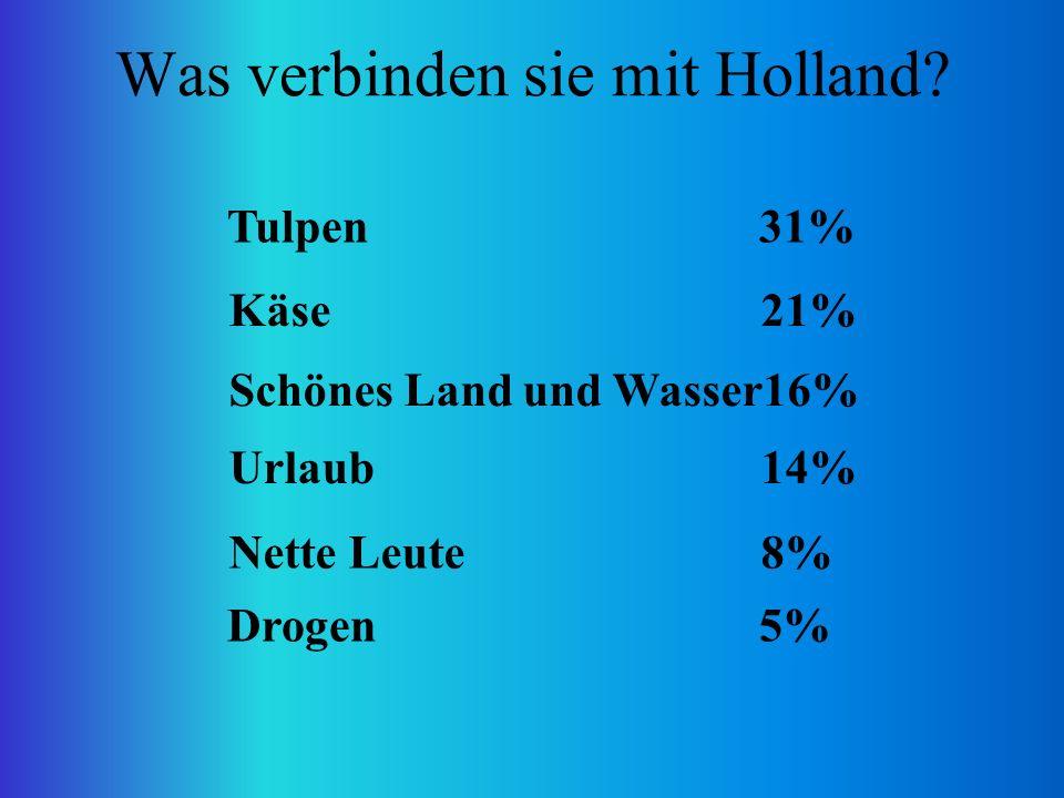 Was verbinden sie mit Holland.