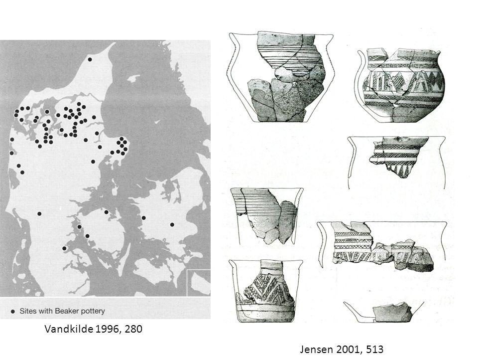 Jensen 2001, 513 Vandkilde 1996, 280
